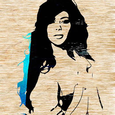 Kim Kardashian Print by Marvin Blaine