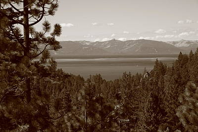 Lake Tahoe Print by Frank Romeo