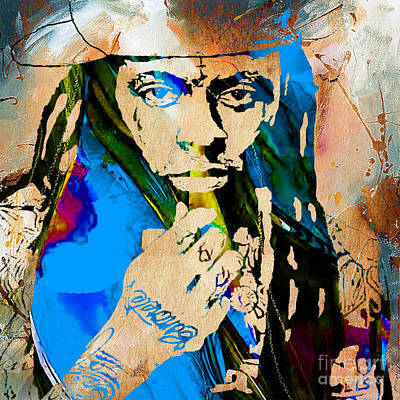 Rap Mixed Media - Lil Wayne Collection by Marvin Blaine