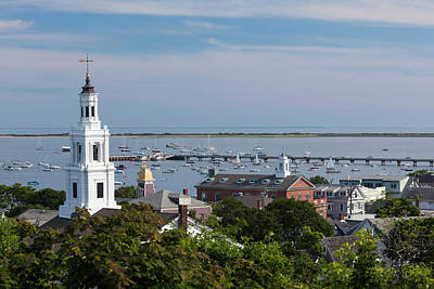 Cape Cod Photograph - Massachusetts, Cape Cod, Provincetown by Walter Bibikow