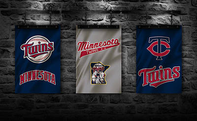 Minnesota Twins Print by Joe Hamilton