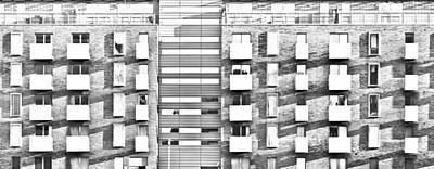 Ledge Photograph - Modern Apartments by Tom Gowanlock