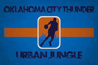 Oklahoma Photograph - Oklahoma City Thunder by Joe Hamilton