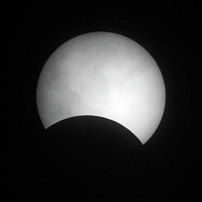 Partial Solar Eclipse Print by Detlev Van Ravenswaay