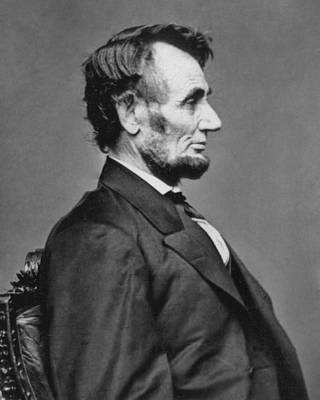 Abraham Lincoln Images Photograph - President Abraham Lincoln by Retro Images Archive