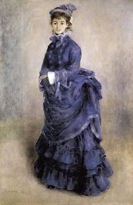 Renoir, Pierre-auguste 1841-1919. The Print by Everett