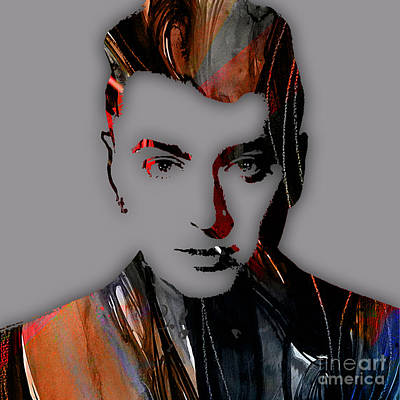 Celebrities Mixed Media - Sam Smith Collection by Marvin Blaine