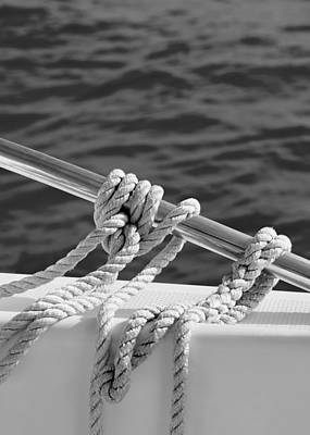 Fresh Air Photograph - The Ropes by Laura Fasulo