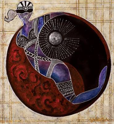 Untitled Print by Sabira Manek
