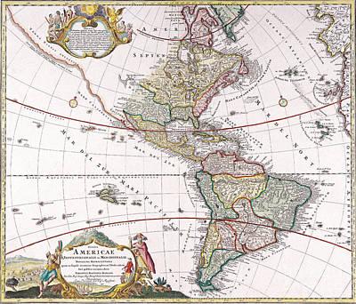 Antique Map Print by Baltzgar