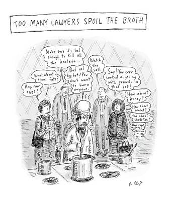 Untitled Print by Roz Chast