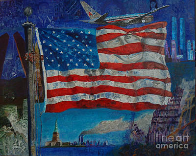 2001. World Trade Center Painting - 9/11 by Mark Smith