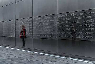 9/11 Memorial Original by Eduard Moldoveanu