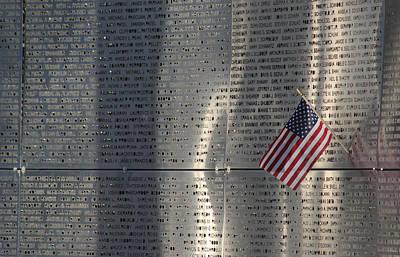 9-11 Memorial Rocky Point New York Print by Bob Savage