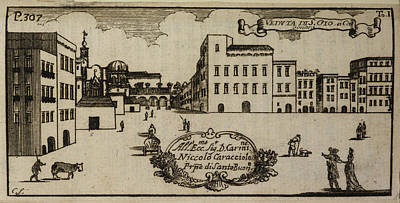 Etc. Photograph - An Illustration Of 18th Century Naples by British Library