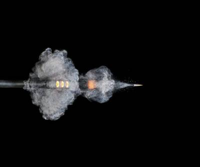 High Speed Photograph - Ar-15 Rifle Shot by Herra Kuulapaa � Precires