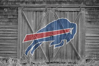 Barn Photograph - Buffalo Bills by Joe Hamilton