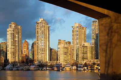 British Columbia Photograph - Canada, British Columbia, Vancouver by Walter Bibikow