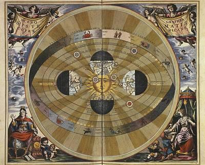 Cellarius, Andreas 1596-1665. Atlas Print by Everett