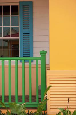 Storefront Photograph - Central America, Honduras, Roatan by Lisa S. Engelbrecht