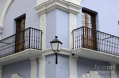 Caribbean Corner Photograph - Colorful Old San Juan by Birgit Tyrrell