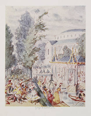 Cruikshank's Water Colours Print by British Library