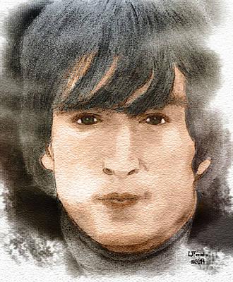 John Lennon Drawing - #9 Dream by Larry Ferreira