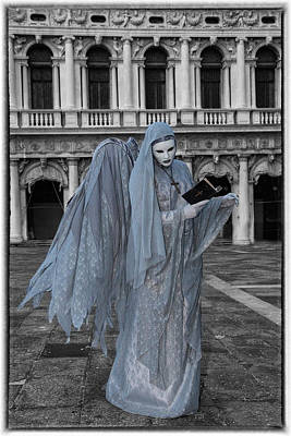 Bible Photograph - Elaborate Costume For Carnival Venice by Darrell Gulin