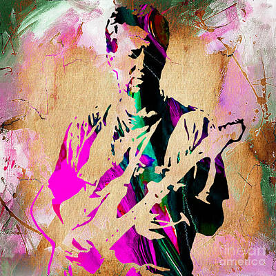 Eric Clapton Mixed Media - Eric Clapton Collection by Marvin Blaine