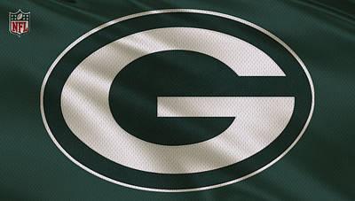Green Bay Packers Uniform Print by Joe Hamilton