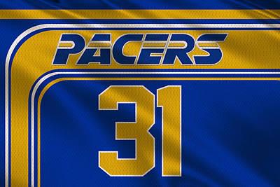 Indiana Pacers Uniform Print by Joe Hamilton