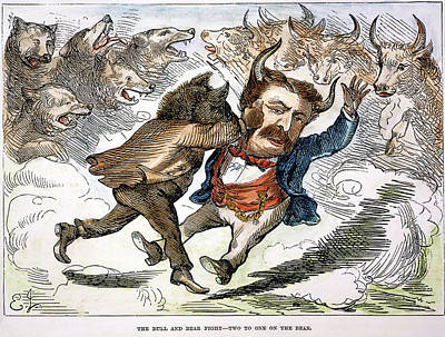 Crisis Painting - James Fisk (1834-1872) by Granger