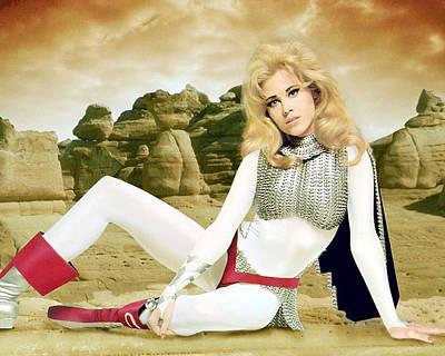 Jane Fonda In Barbarella  Print by Silver Screen
