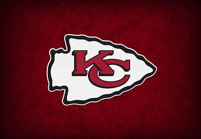 Kansas City Chiefs Print by Joe Hamilton