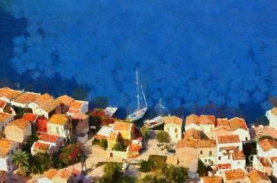 Kastellorizo Island Print by George Atsametakis