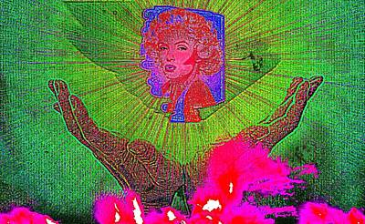 Etc. Digital Art - Marilyn  by HollyWood Creation By linda zanini
