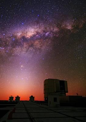 Stargazing Photograph - Milky Way Over The Atacama Desert by Babak Tafreshi