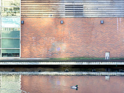 Ledge Photograph - Modern Building by Tom Gowanlock