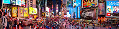 Manhattan Photograph - Times Square Series by Josh Whalen