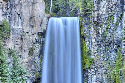 Deschutes Photograph - Tumalo Falls by Twenty Two North Photography