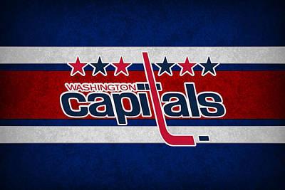 Hockey Photograph - Washington Capitals by Joe Hamilton