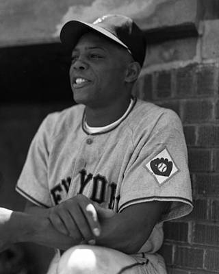 Steal Photograph - Willie Mays by Retro Images Archive