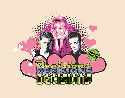 Beverly Hills Digital Art - 90210 - Decisions by Brand A