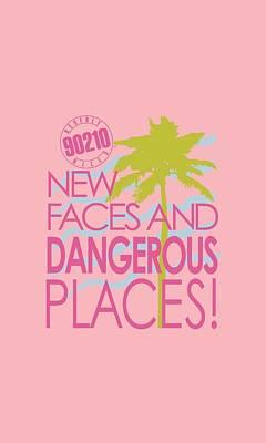 Beverly Hills Digital Art - 90210 - Tagline by Brand A