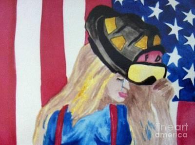 Tears Drawing - 911 Tears by Melissa Darnell Glowacki