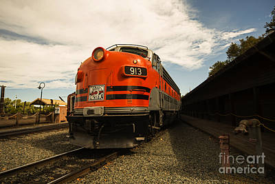 Caboose Photograph - 913 by Cheryl Young