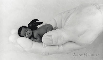 Hands Photograph - Untitled by Anne Geddes