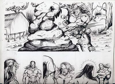 Mixed Media - Rough by Abhishek Vishwakarma