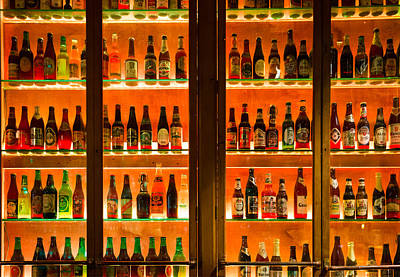 99 Bottles Of Beer On The Wall Print by Semmick Photo