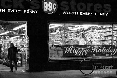 99 Cents - Worth Every Penny Print by Miriam Danar